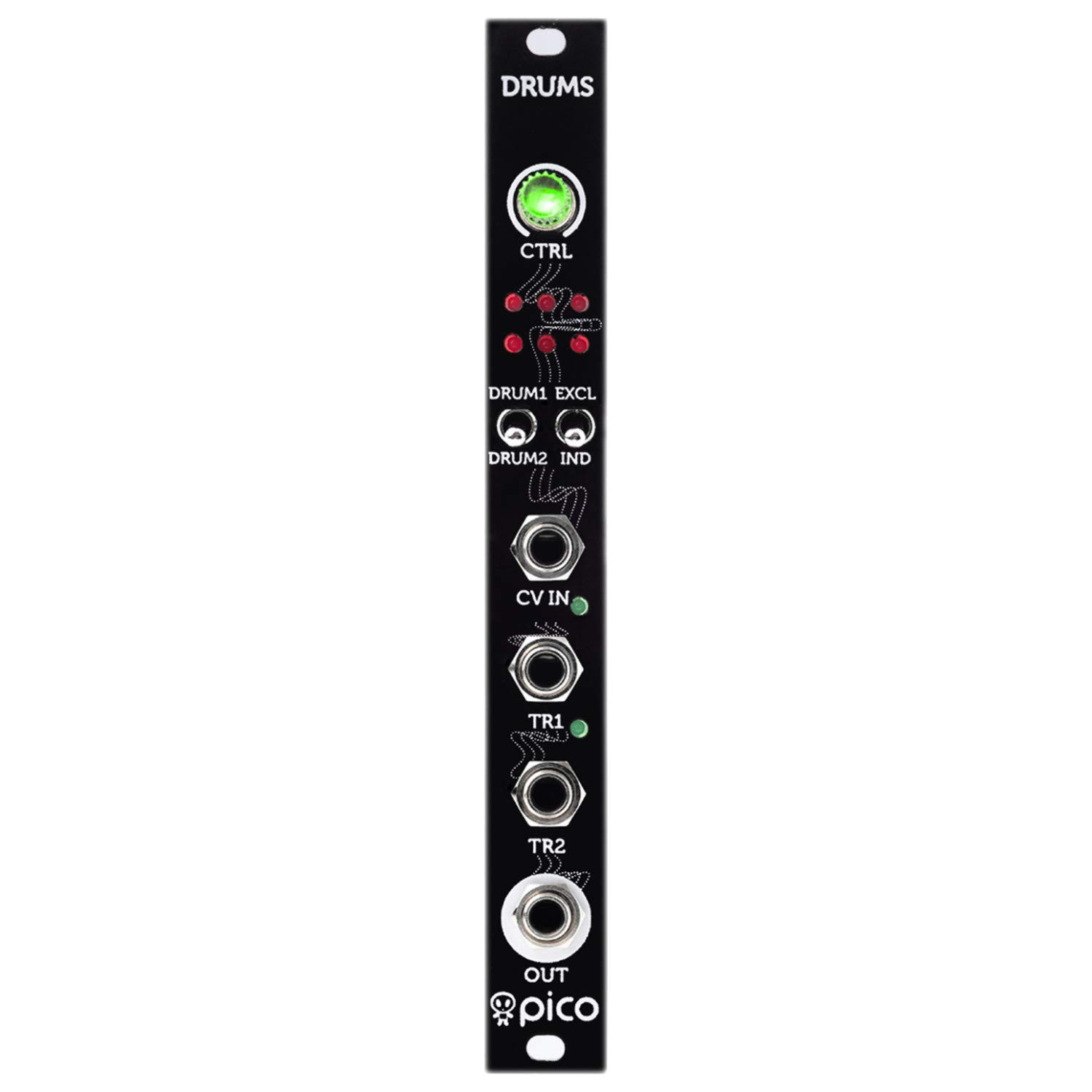 Erica Pico Drums Eurorack Synth Module