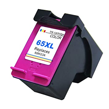Amazon.com: Ksera - Tinta remanufacturada para HP 65 XL HP65 ...
