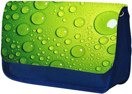 Abstracto 149, Azul Escuela Niños Sublimación Alta calidad Poliéster Estuche de lápices con Diseño Colorido. 21x13 cm.: Amazon.es: Oficina y papelería