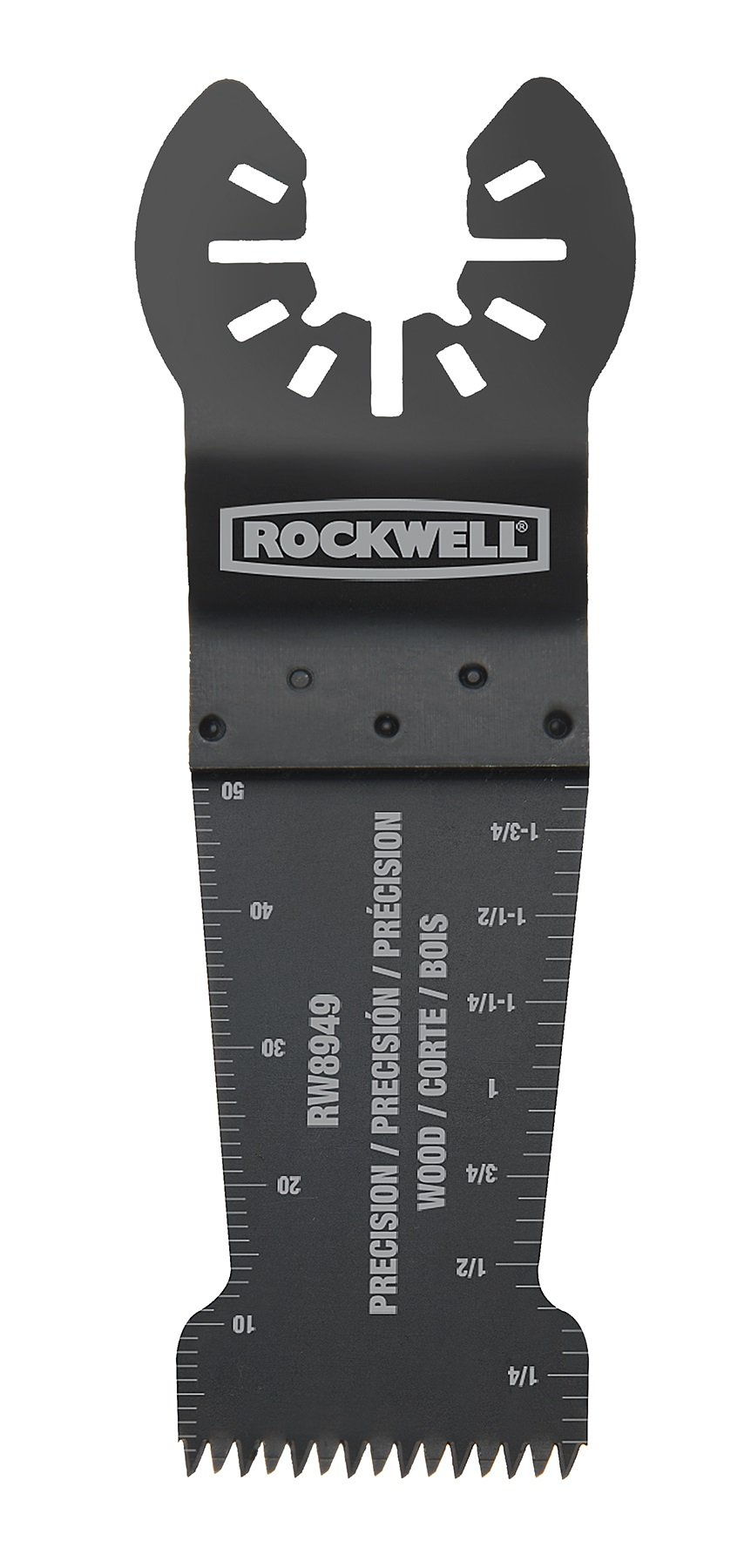 Rockwell RW8949.3 Sonicrafter Precision Wood End Cut Blade (3-Pack), 1-1/8''