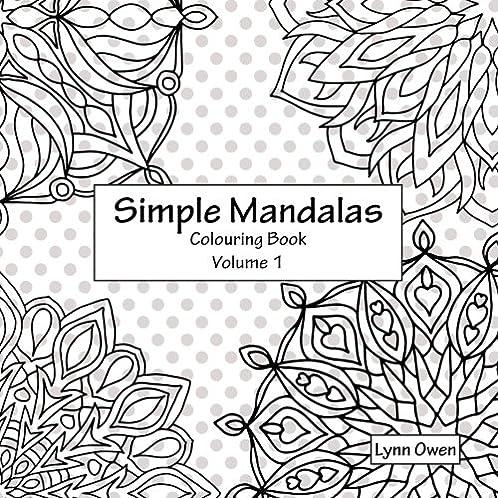 Simple Mandalas Colouring Book Volume 1