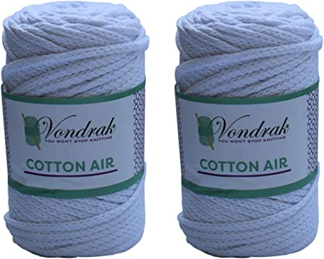 Hilo de algodón de 5 mm. Hilo de algodón grueso. Ovillo de lana ...