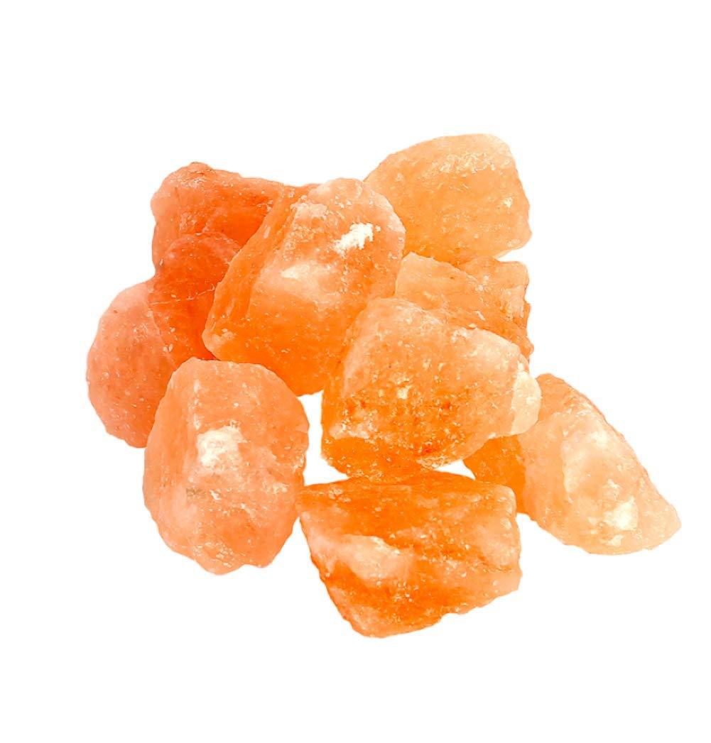 Himalayan CrystalLitez Natural Himalayan Salt Crystal Rocks 2 LBS Bag of Chunks ,1 to 2 Inches Mixed Size Extra Salt Crystals Nomads Aromatherapy