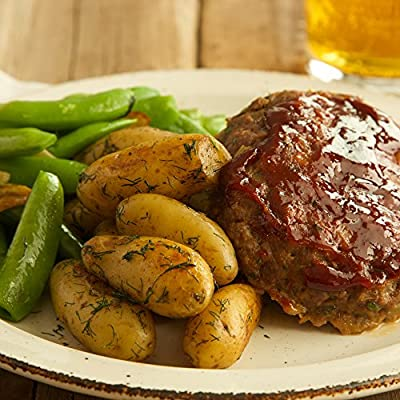 Individual Meatloaves with Dill Fingerling Potatoes and Sugar Snap Peas by Chef'd