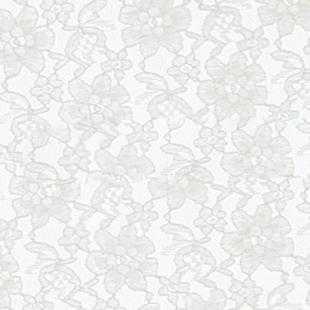 White Raschel Lace Fabric - Sold By The Yard (FB) by Fabric Bravo   B00T8XOHSQ