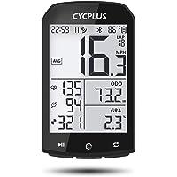 CYCPLUS GPS Bike Computer - Velocímetro y cuentakilómetros ANT+ inalámbrico para bicicleta con Bluetooth compatible con…