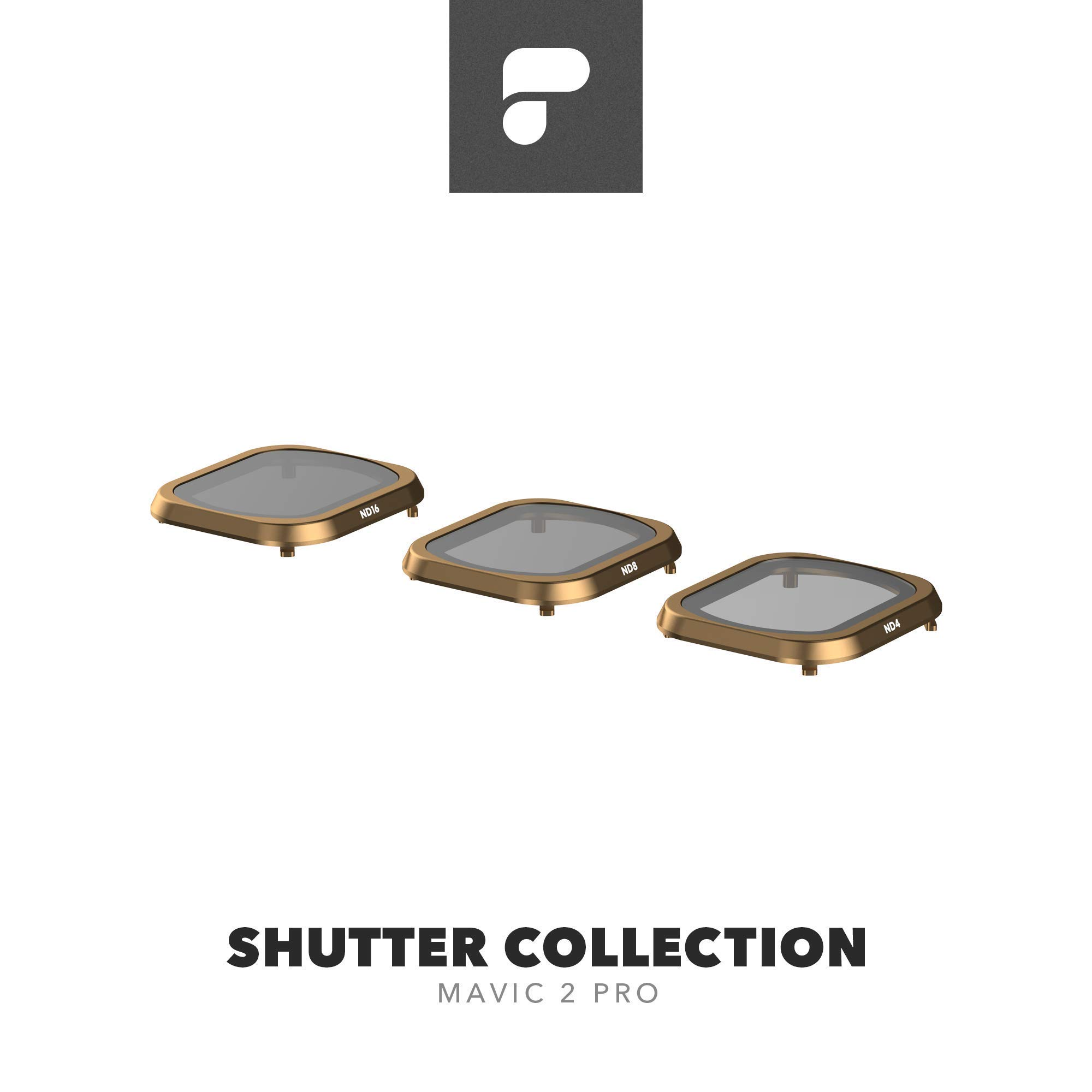 PolarPro Shutter Collection (ND4, ND8, ND16 Mavic 2 Filters) for DJI Mavic 2 Pro by PolarPro