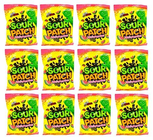 Sour Patch Watermelon Sour Then Sweet: 12 Packs of 5 Oz - Tj by Cadbury