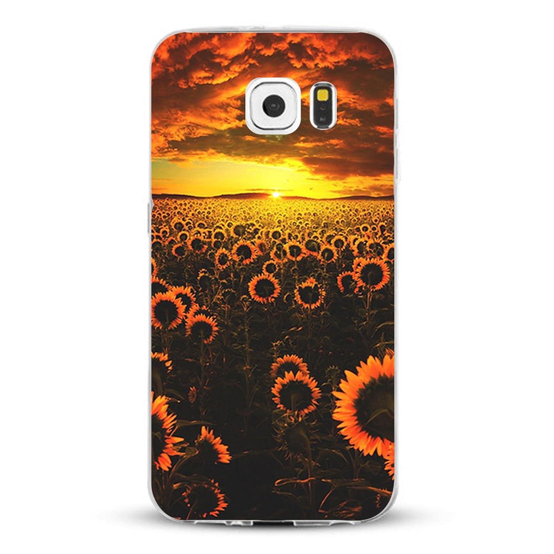 b47c4add897 Carcasa Samsung Galaxy S6 Edge Plus TPU Transparente Funda Cubierta de  Silicona de ultra delgado impresión