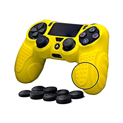 Amazon.com: Driver De PS4 Grip Skin Antideslizante Carcasa ...