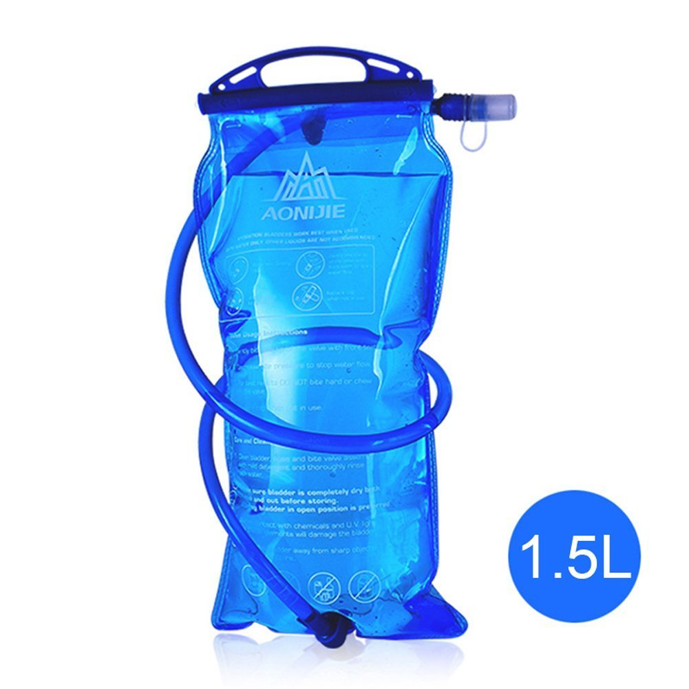 Amazon.com : 1L 1.5L 2L 3L BPA Free Hydration Bladder Water Reservoir for Bicycling Hiking Camping Backpack (1.5L / 50oz (PEVA)) : Sports & Outdoors