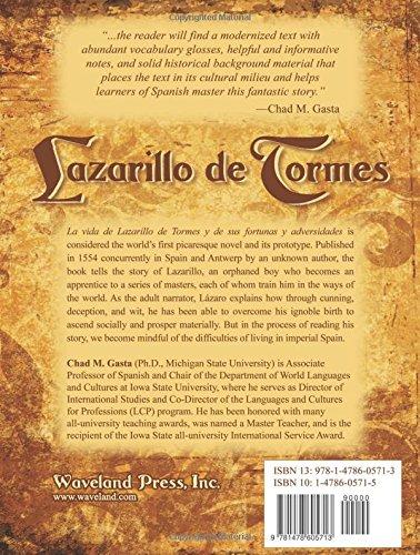 La vida de Lazarillo de Tormes y de sus fortunas y adversidades, Annotated Critical Edition (English and Spanish Edition)