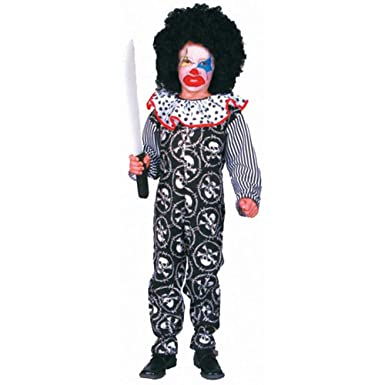 Amazon.com: Kid s scary disfraz de payaso para Halloween ...