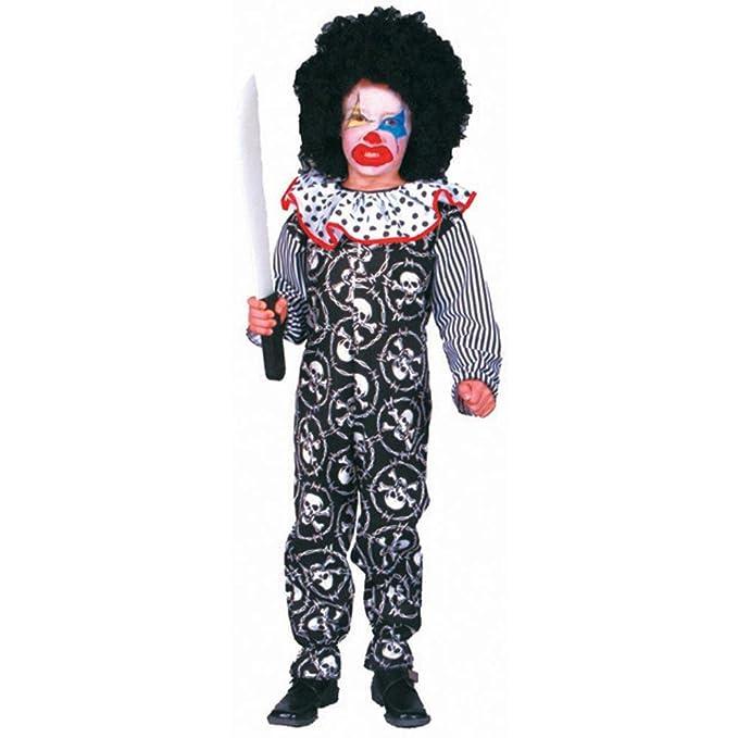 Scary Clown Halloween Costume.Kid S Scary Clown Halloween Costume Medium 8 10