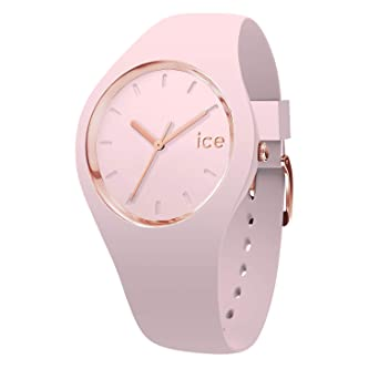 c7bfd0fc4f973 Ice-Watch - Ice Glam Pastel Pink Lady - Montre Rose pour Femme avec Bracelet