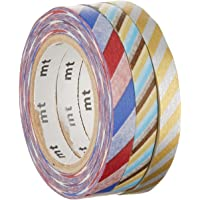 MT MTSLIM12 Slim Washi Tape Set Twist Cord C (Pack of 3)