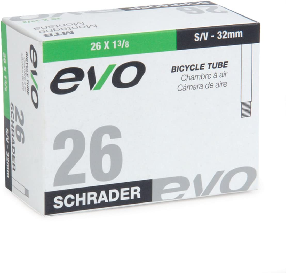 """Multipaks EVO 26/""""x 1-3//8/"""" XL 48mm Schrader Valve Bike Inner Tube"""