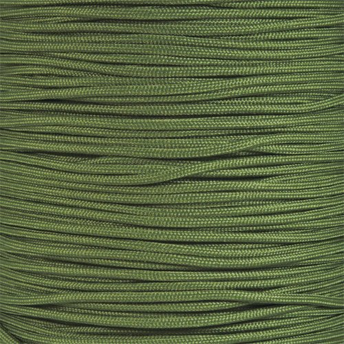 PARACORD PLANET 550 Cord Type III 7 Strand Paracord 250 Foot Spool - Olive