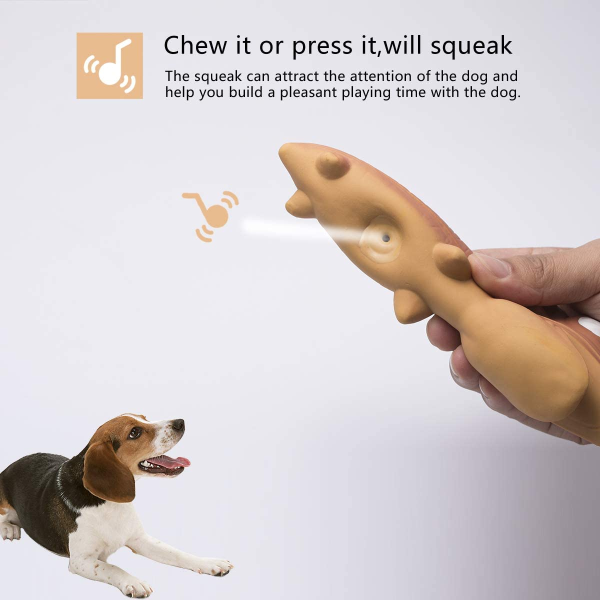 Petper Cw 0123EU Latex Pet Toys for Dog Cat, Squeaky Dog Training Interactive Puppy Play Toys