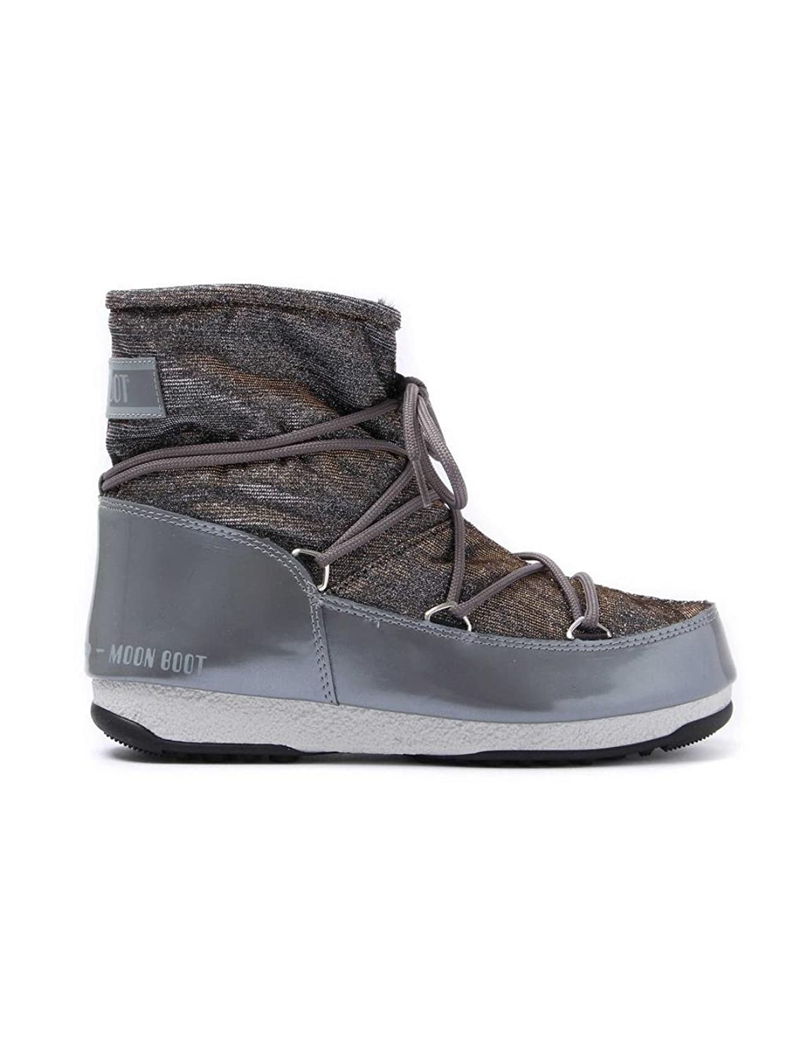 Marques Chaussure femme Moon Boot femme Low Lurex Greysilver
