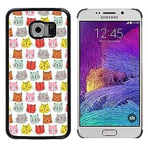 Dragon Case - FOR Samsung Galaxy S6 EDGE - Now or never - Caja protectora de pl??stico duro de la cubierta Dise?¡Ào Slim Fit