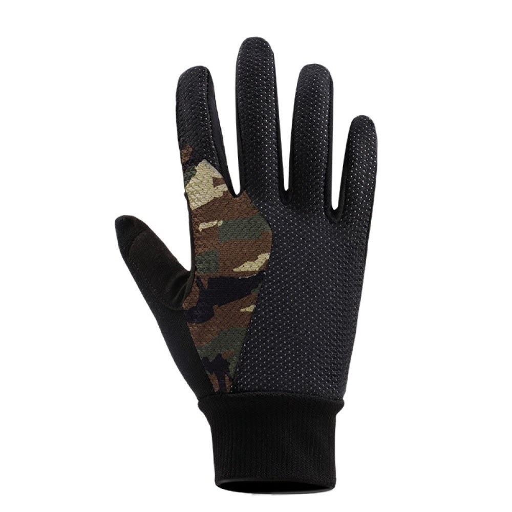 LDFN Plus Samt Warme Winter Winddichte Handschuhe for Forcing Driving Skifahren Skating Klettern,OneFarbe-XL