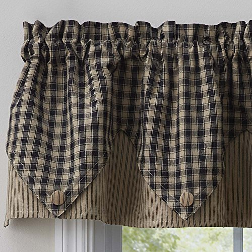 Park Designs Town and Country Black Point Valance by Park Designs (Image #1)