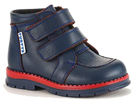 5ca6e97fae Tukyys Shoes for Boys/Girls Leather Waterproof Boots with Orthopedic Insole  Wool Lining (Toddler) (Genuine Leather, US-8 EU-24): Amazon.in: Baby