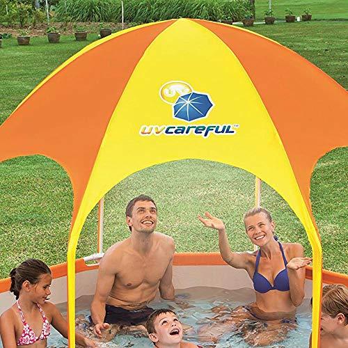 Bestway 8' x 20'' Splash in Shade Kids Spray Play Swimming Pool & Canopy (2 Pack) by Bestway (Image #5)