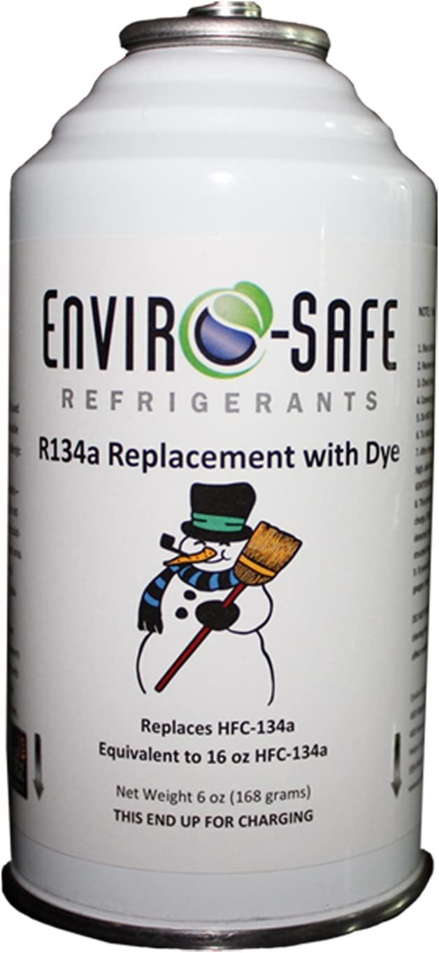 r12A refrigerant can compatible with r12 and r134a 3 cans