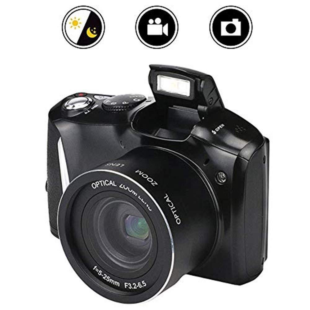 アクションカメラ 一眼レフデジタルカメラ、2400万HDピクセルホーム16倍ズーム一眼レフビデオカメラ、高速連写撮影機能付きマルチモード撮影をサポート カメラ   B07RTKQHZP