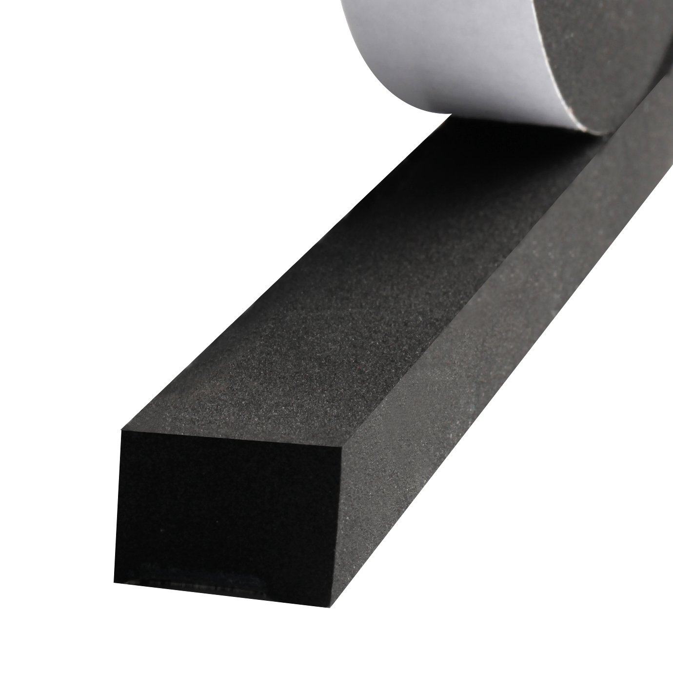 Foam Weather Stripping, Adhesive Foam Tape Sound Proof Insulation Closed Cell Foam Seal 1 Inch Wide X 3/4 Inch Thick X 13 Feet Long (1in 3/4in)