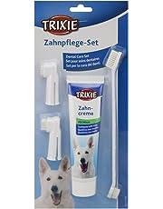Trixie 2561 Zahnpflege Set, für Hunde, 1 Set