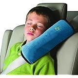 Almohadillas Para Cinturón, BlueSterCool Bebé Niños Ajustable Correa De Seguridad Almohada Hombro Proteccion Cinturones De Seguridad De Coches Reposacabezas [Tener Un Buen Dormir En El Coche] (Azul)