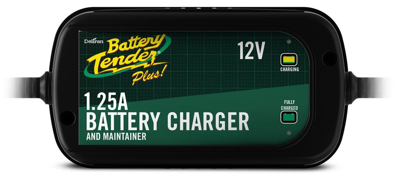 Battery Tender 022-0185G-dl-wh Black 12 Volt 1.25 Amp Plus Battery Charger/Maintainer