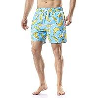 Tesla Men's 6 Inches Swimtrunks Quick Dry Water Beach MSB13 MSB15