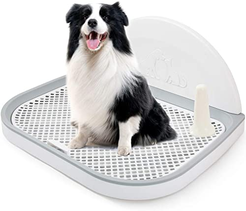 HIPIPET-Puppy-Dog-Potty-Tray-23.2''X17.8''X1.9-Puppy-Pad-Holder