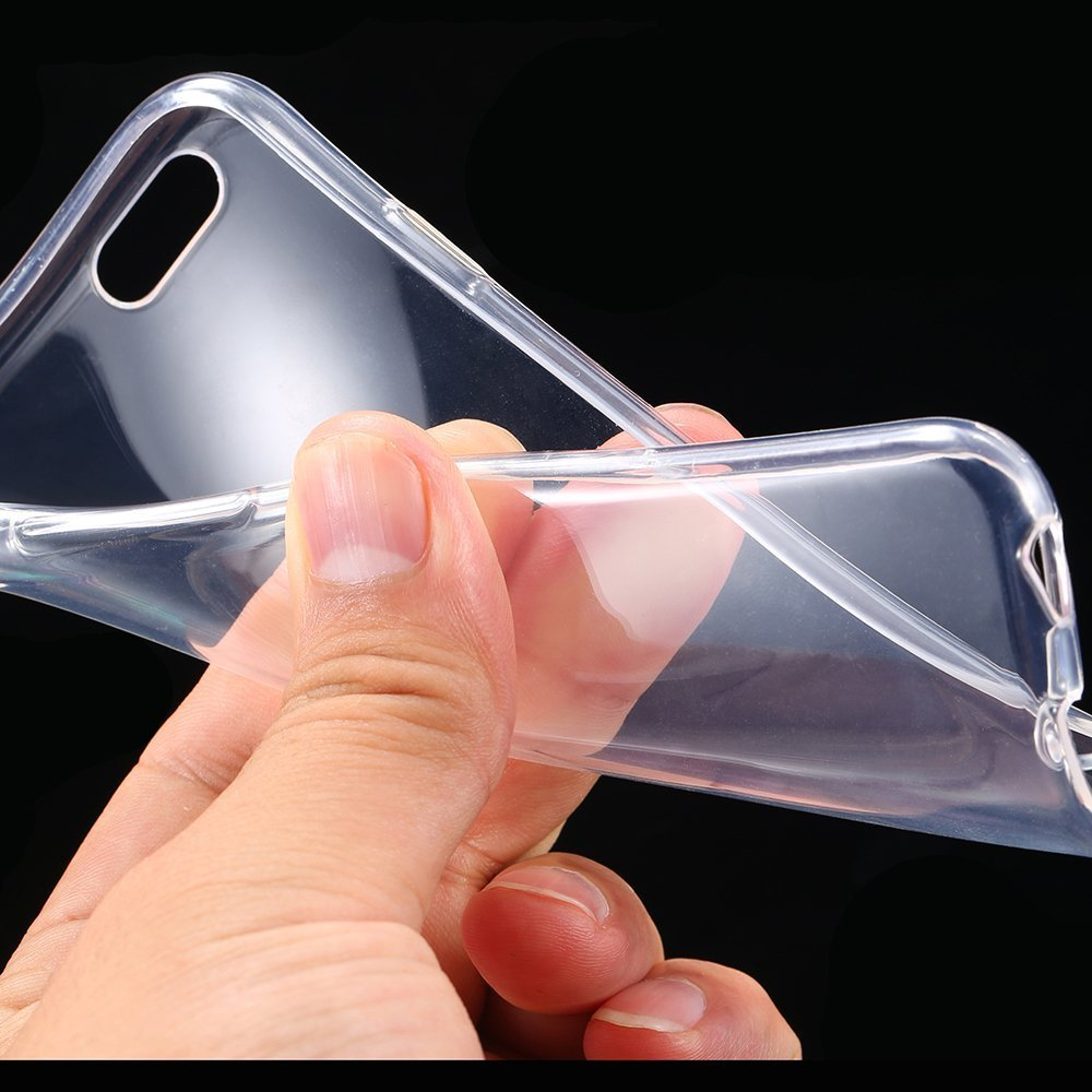 Ultra Thin Slim Crystal Clear Soft Tpu Cover Case Skin Remax Aluminum Metal Button Bumper Protector For Iphone 5 5s 47 6 Cell Phones Accessories