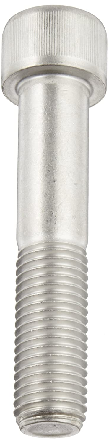 Meets DIN 912//ISO 3506 M12-1.75 Metric Coarse Threads 304 Stainless Steel Socket Cap Screw Pack of 10 Internal Hex Drive Plain Finish 100mm Length Partially Threaded Imported Brighton Best 538220
