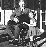 US president Franklin Roosevelt in wheelchair due to Polio poliomyelitis , 8x10 Photo Print