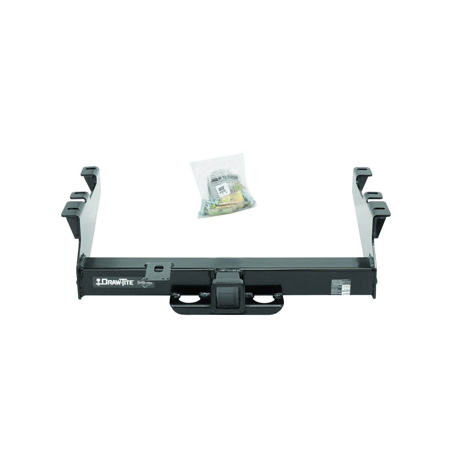 Draw-Tite 45513 Class V Hitch with Large 2-1//2 Square Receiver Tube Opening