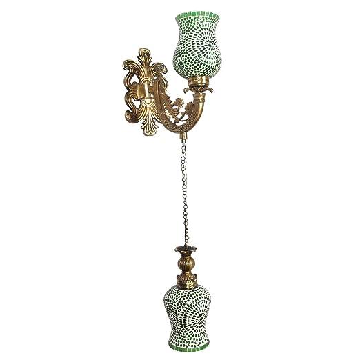 Amazon.com: Lalhaveli - Lámpara de pared con 2 luces de ...