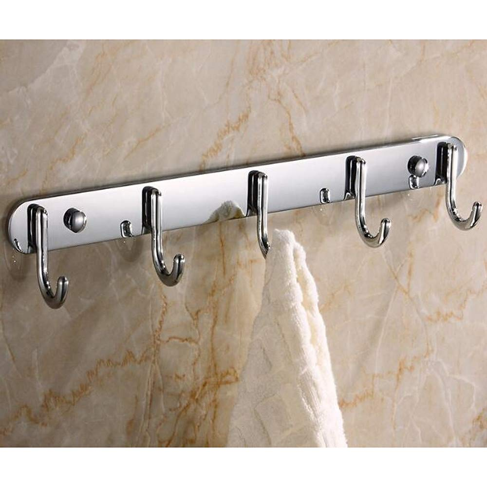 Sunny Key Robe Hook New Design/Cool Contemporary Stainless Steel/Iron 1pc Wall Mounted,Silvery