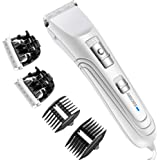 AIBORS Dog Grooming Clippers kit with 12V High Power Low Noise for Thick Coats Heavy Duty Plug-in Pet Trimmer Electric…