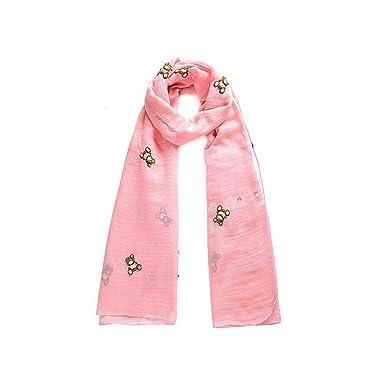 94eda44b3afb Intrigue - Foulard - Femme Rose Rose  Amazon.fr  Vêtements et ...