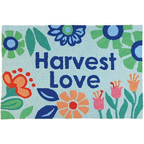 Jellybean Harvest Love Garden Indoor/Outdoor Machine Washable 21'' x 33'' Accent Rug by Jellybean