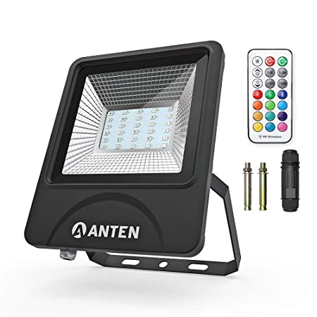 Anten 30W SMD 3030 IP66 RGB Floodlight LED Foco Proyector LED para ...