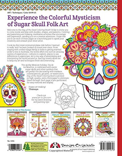 Day of the Dead Coloring Book (Coloring Is Fun): Thaneeya McArdle ...