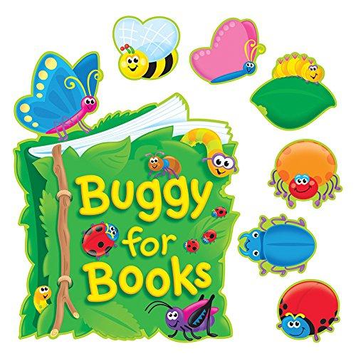 Bulletin Guide - TREND enterprises, Inc. Buggy for Books Bulletin Board Set