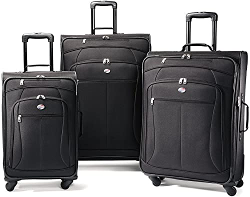 American Tourister AT Pop 3-Piece Softside Spinner Wheel Luggage Set